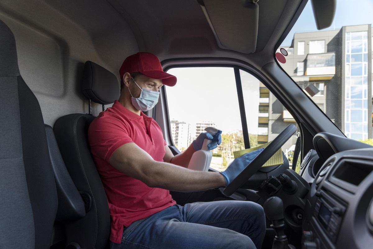 Koronawirus – instrukcja dla kierowców