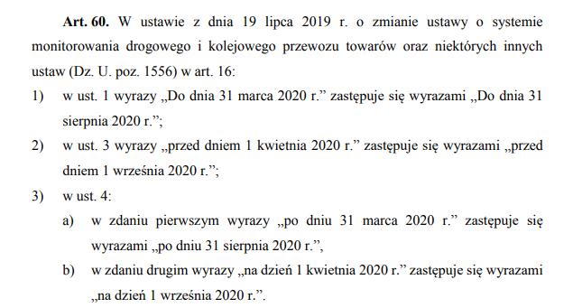 Art. 60. Ustawy